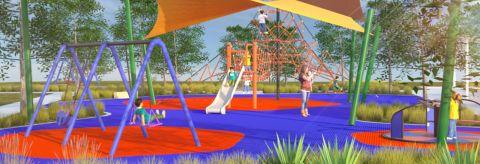 Croatia Avenue Park, Edmondson Park - Draft Landscape Concept Plan