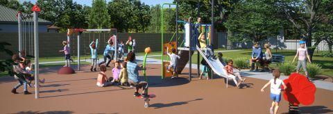 Kotlash Park – Local Park Construction