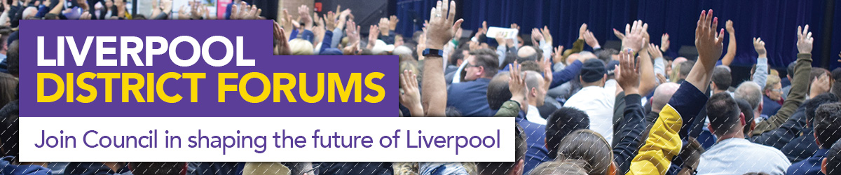 Join Council in shaping the future of Liverpool